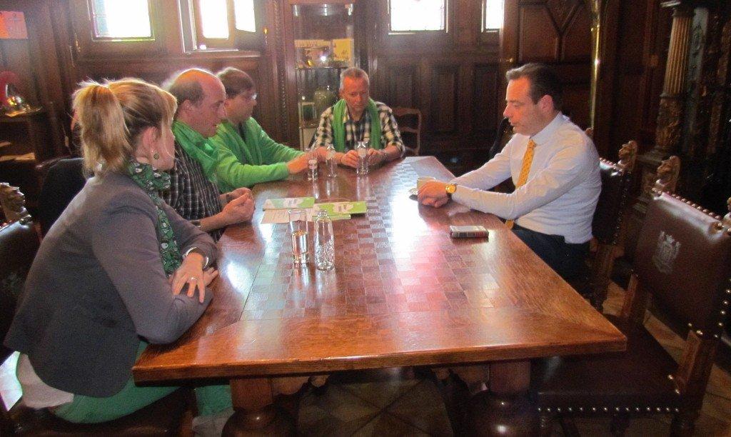 Onderhandeling met Bart De Wever